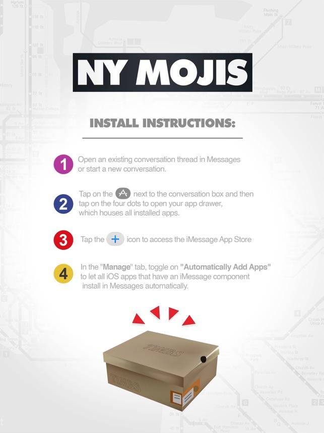 Ny Mojis On The App Store