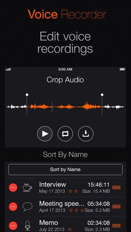 Voice Recorder: Audio record