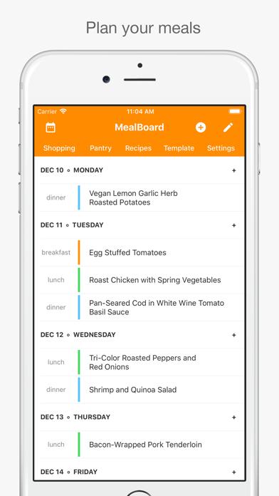 MealBoard Screenshot