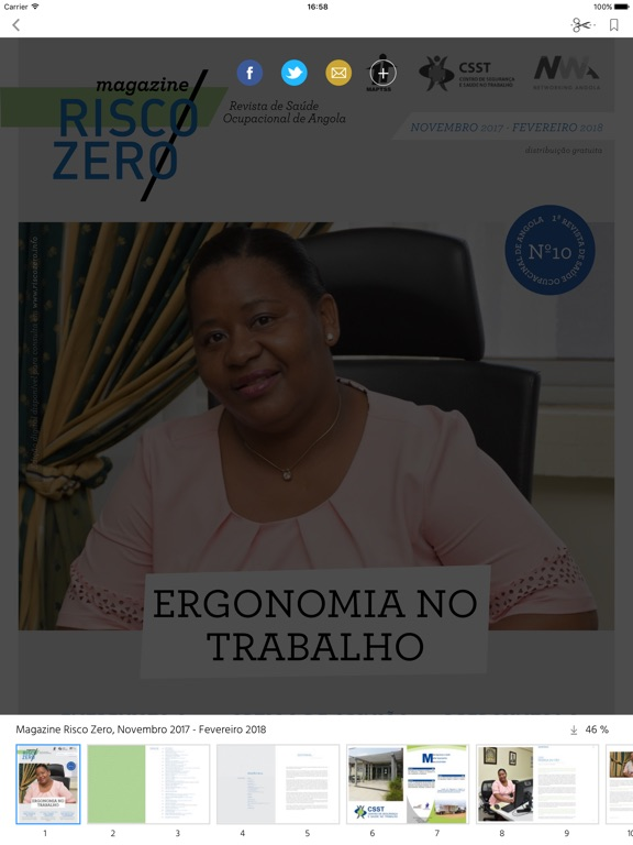 Magazine Risco Zero screenshot 7