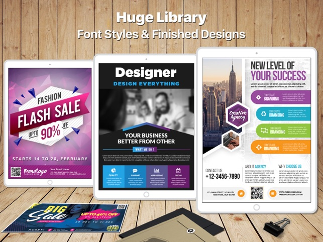 graphic designer pack create edit logos flyers business cards
