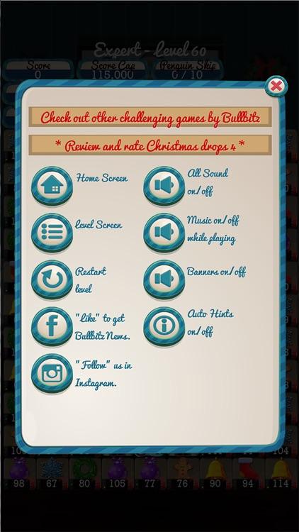 Christmas Drops 4 - Match 3 screenshot-8