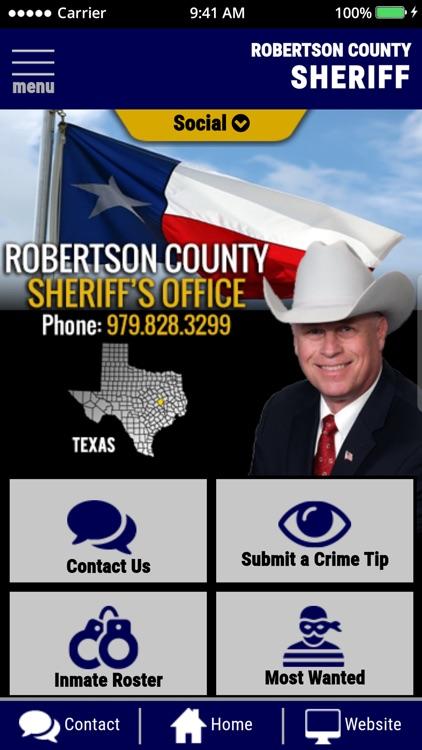 Robertson County Sheriff Texas by Robertson County Sheriff's