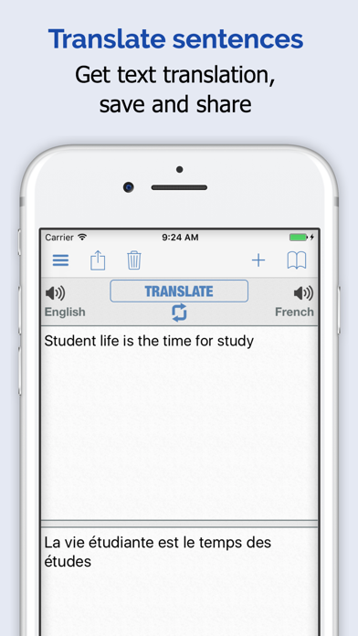 French Dictionary Elite review screenshots
