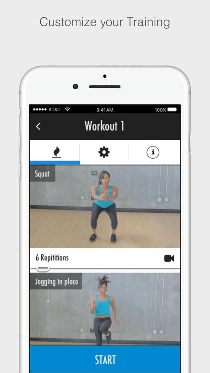 At Home Workouts screenshot-4