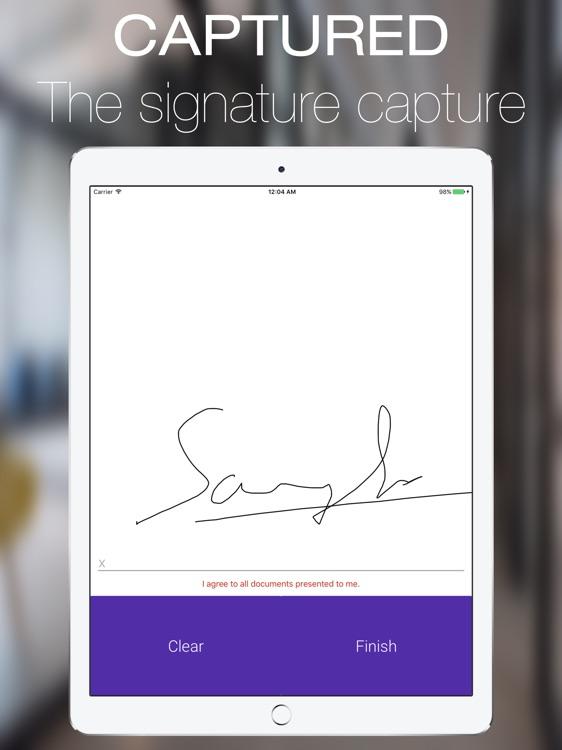 CrystalPM Signature Capture screenshot-4