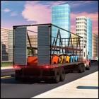 机场货运车运输车 icon