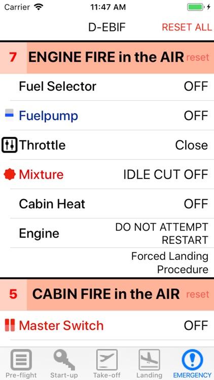 Checklist PA-28 screenshot-3