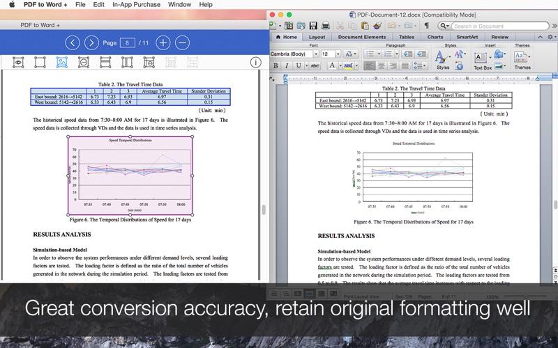 PDF to Word - PDF Converter Screenshot