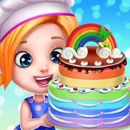 Rainbow Desserts Cooking Shop!