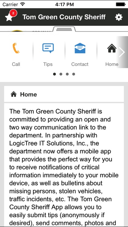 Tom Green County Sheriff by LogicTree IT Solutions