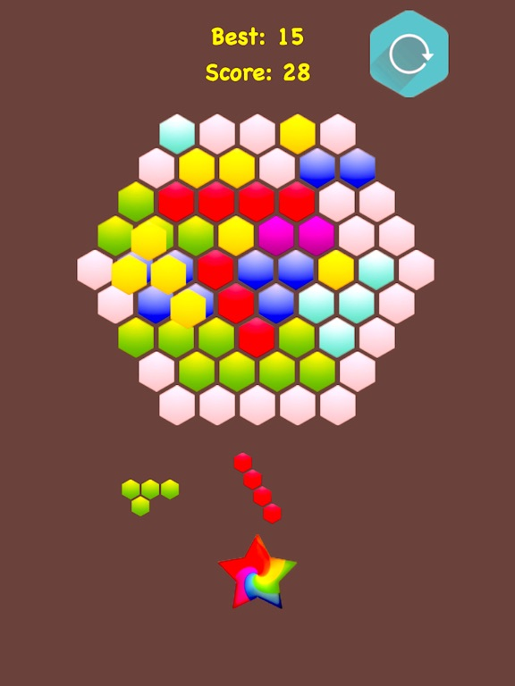 Hexagonal Merge - Premium. screenshot 9