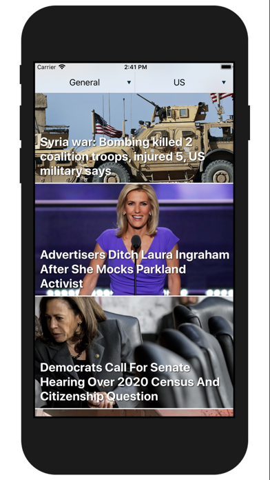 Newstagram Screenshots