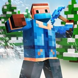 Survival 3D Winter Block