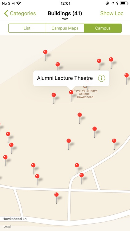 Rvc Campus Map.Rvc Mobile By Royal Veterinary College