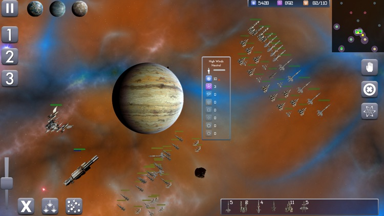 Galactic Conflict RTS screenshot-3