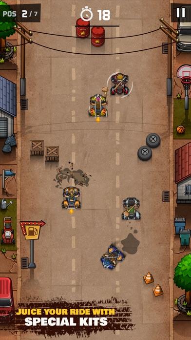 Rude Racers! Screenshot 3