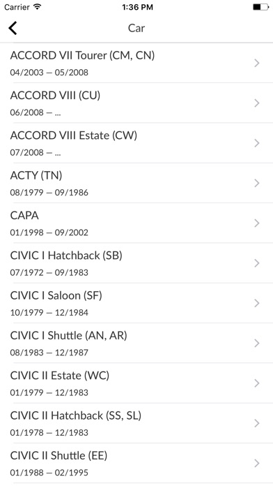 Screenshot for Car Parts for Honda in Poland App Store