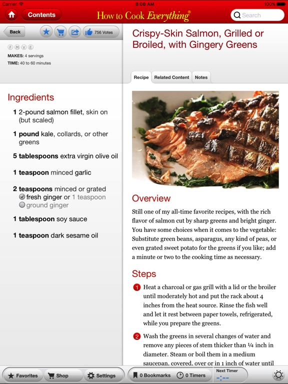 Screenshot #2 for How to Cook Everything