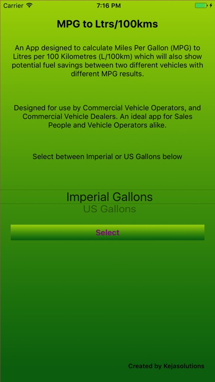 MPG to L/100km (Fuel,Saving)