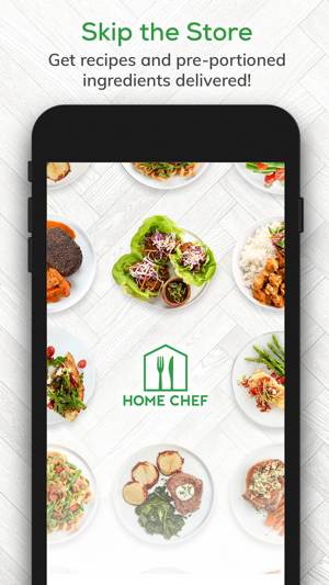 Home Chef Meal Kit Delivery On The App Store