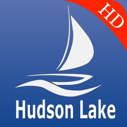 Hudson lake Nautical Chart Pro