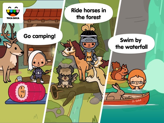 Toca Life: Stable Screenshots