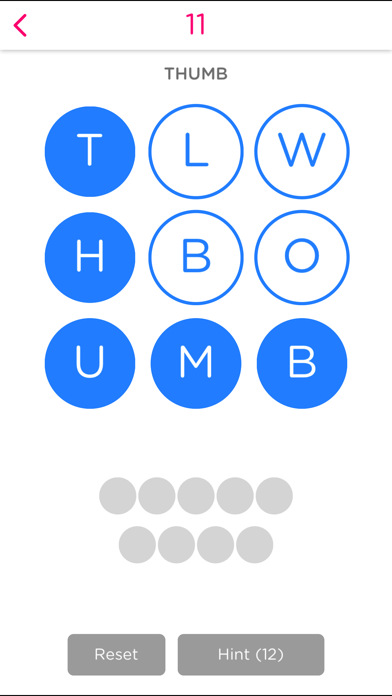 Word Circles! screenshot two