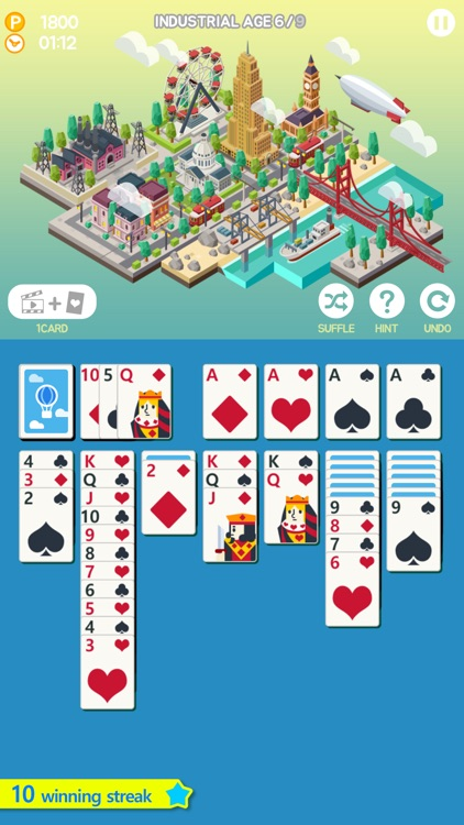 Age of solitaire - City Building Card game screenshot-0