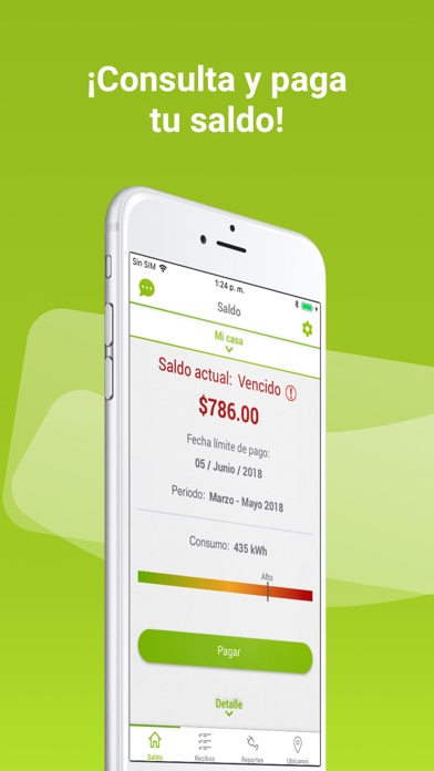 Screenshot for CFE Contigo in Mexico App Store