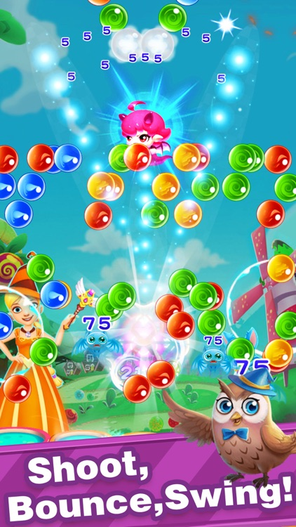 Bubble Shooter-New Pop Bubbles screenshot-4
