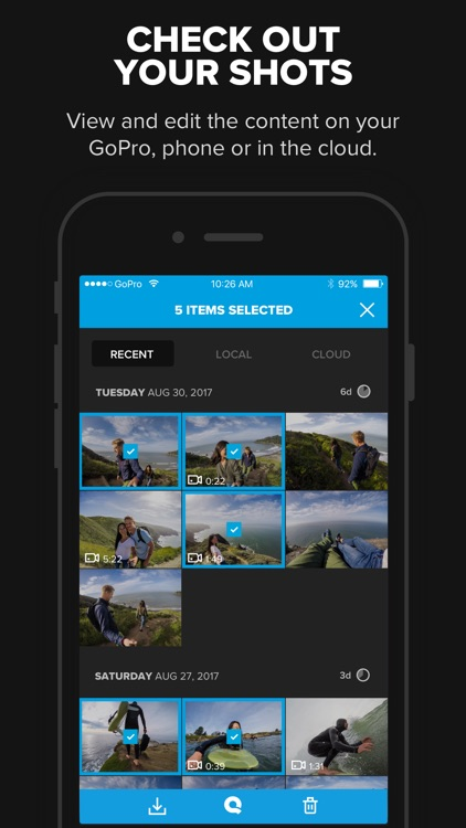 GoPro (formerly Capture) – Featuring QuikStories screenshot-1