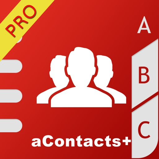 aContacts+ - Contact Manager iOS App