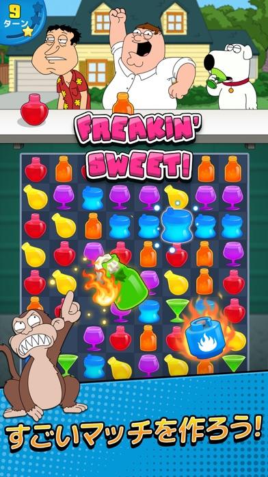 ファミリーガイ:こんなパズルゲーム狂ってるぜ!紹介画像1