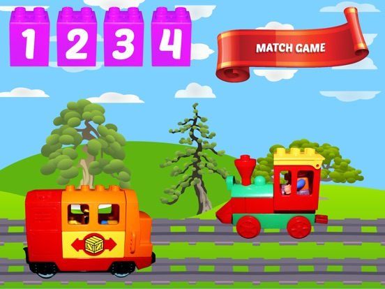 Alphanumeric Trains для iPad