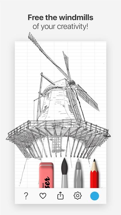 Tayasui Doodle Book screenshot-3