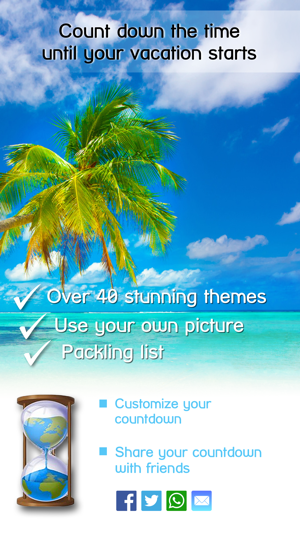 Vacation Countdown App On The Store