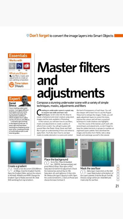 Photoshop Creative Magazine screenshot-3