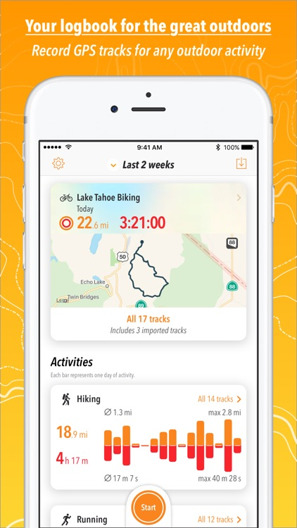 Trails · Outdoor GPS Logbook