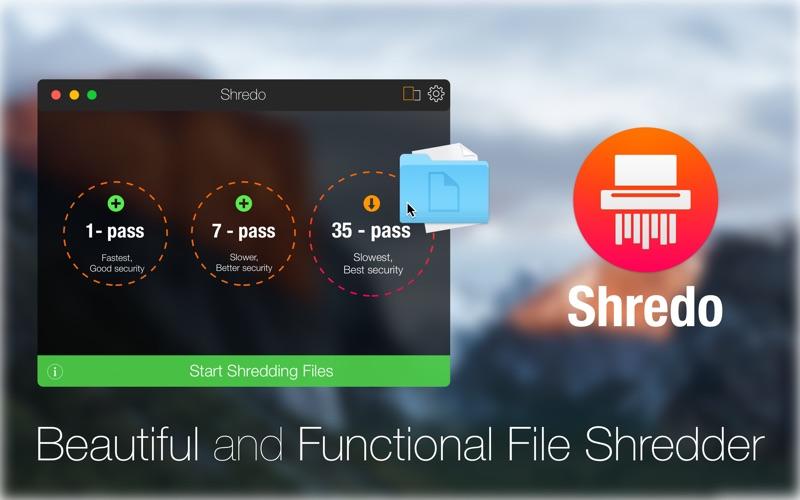 Shredo - shredder & cleaner Screenshot 01 1aiukzuy