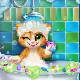 猫儿沐浴 - 小游戏