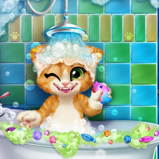 Кошачья купание - Малые игры