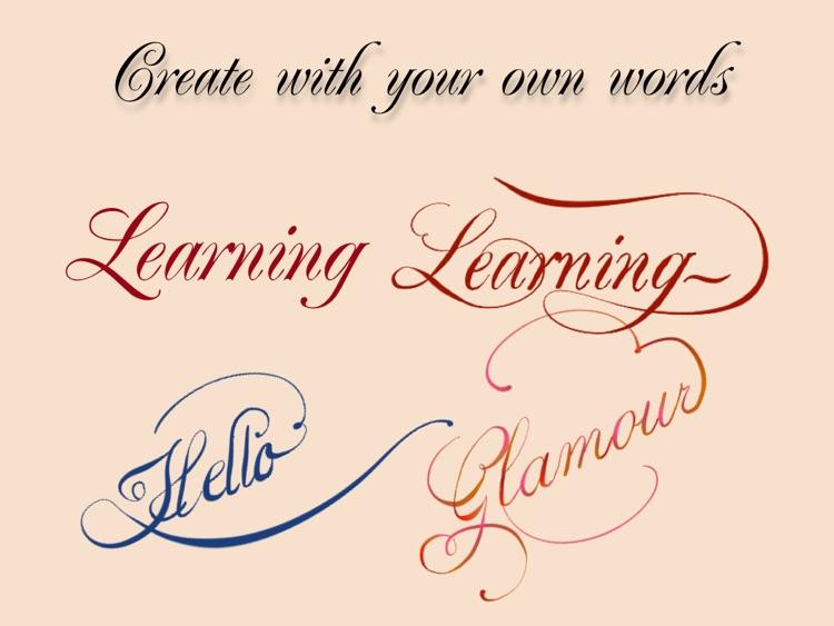 Calligraphy Penmanship screenshot-3