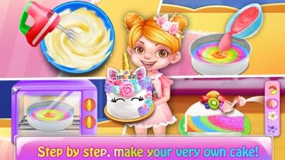 Rainbow Unicorn Cake MakerCaptura de pantalla de2