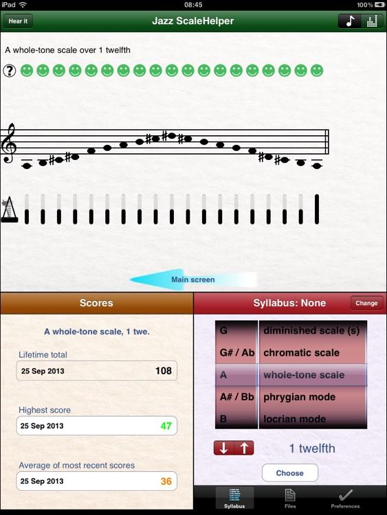 Jazz ScaleHelper for iPad screenshot-4