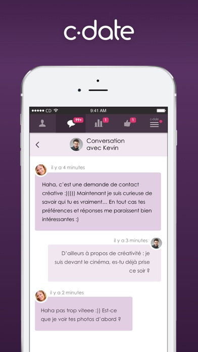 download C-date – Dating with live chat apps 2