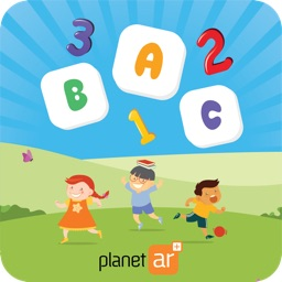 PlanetAR - Alphabets & Numbers