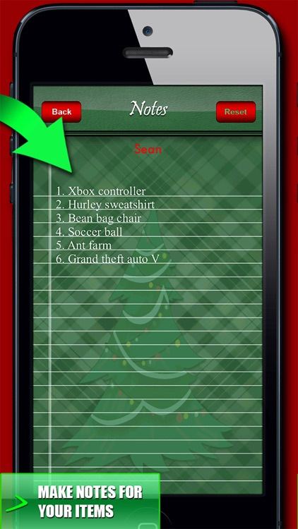 Christmas Gift Organizer! screenshot-2