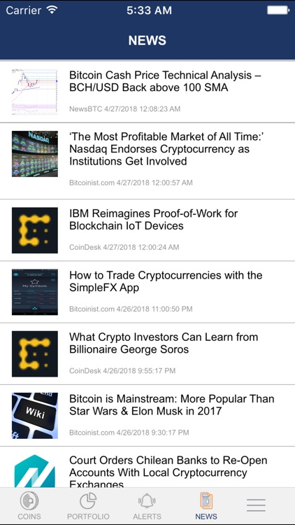 MyCryptoAlert screenshot-8