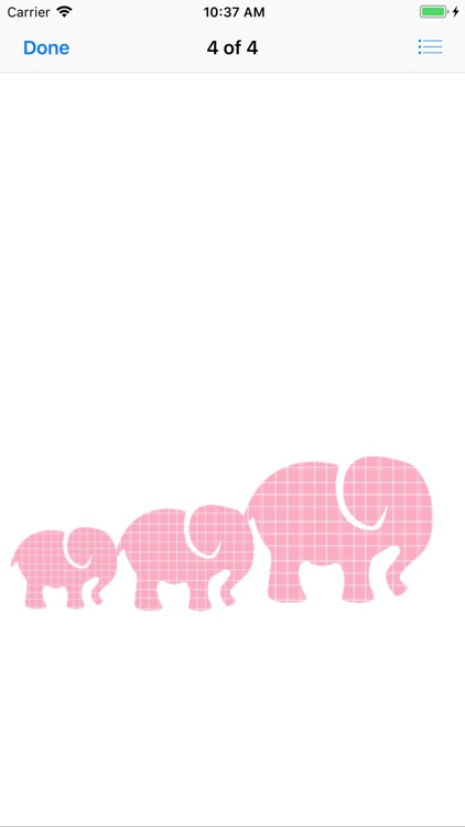 Pink Elephant Sticker Pack screenshot-9